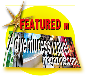 Featured In Adventuress Travel Magazine