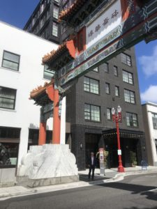 ChinaTown Entrance in Portland
