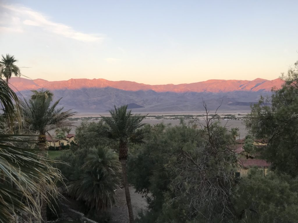 The Inn at Death Valley sunrise