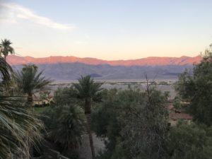 The Inn at Death Valley sunrise