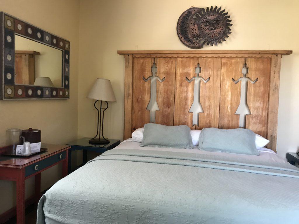Bedroom at La Posada Winslow AZ