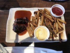 Steak Bites at Crossbuck