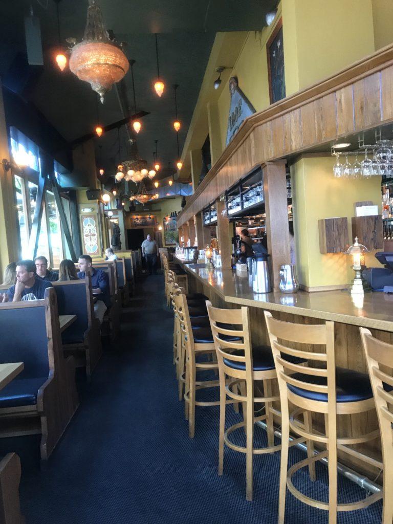 Zeus Café in McMinamins Crystal Hotel