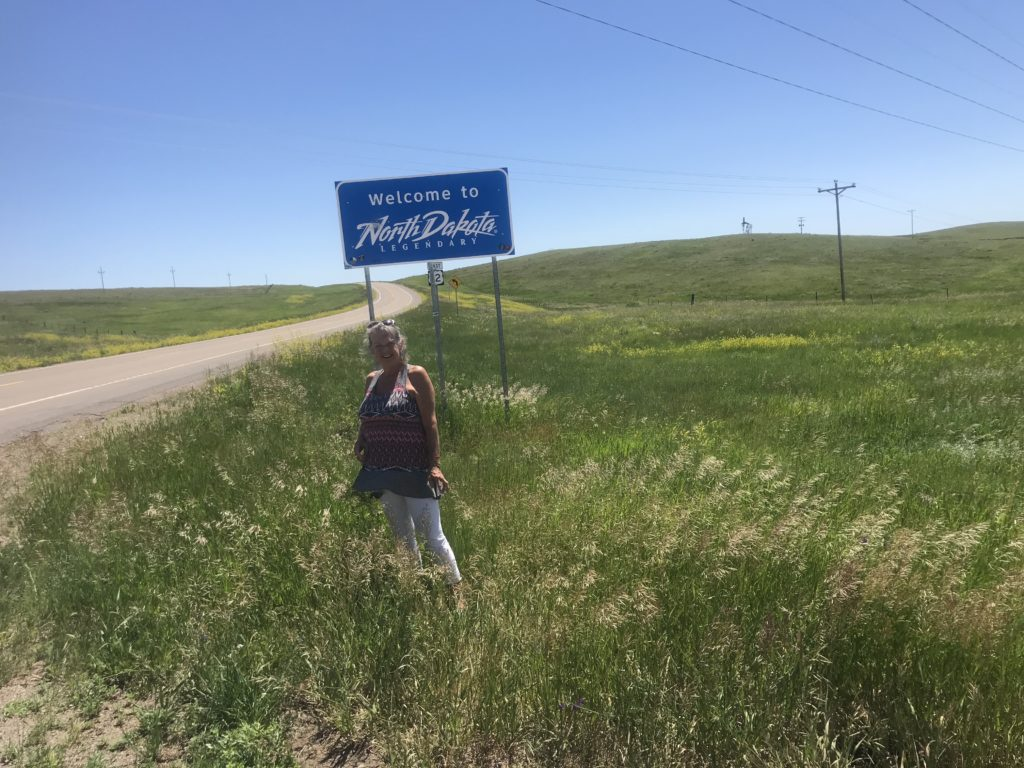 I made it to North Dakota