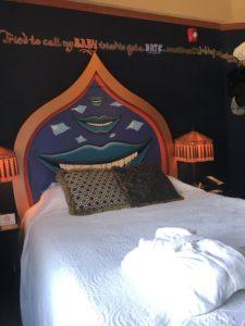 Room in the Crystal Hotel, Portland Oregon