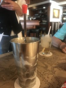 Chocolate malt at Ted's Montana Grill in Bozeman MT