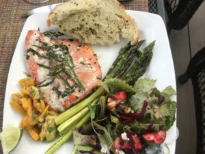 Jacqueline's Dinner at Salem Oregon