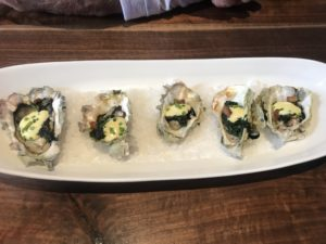 Oysters at Wall Walla Steakhouse Company