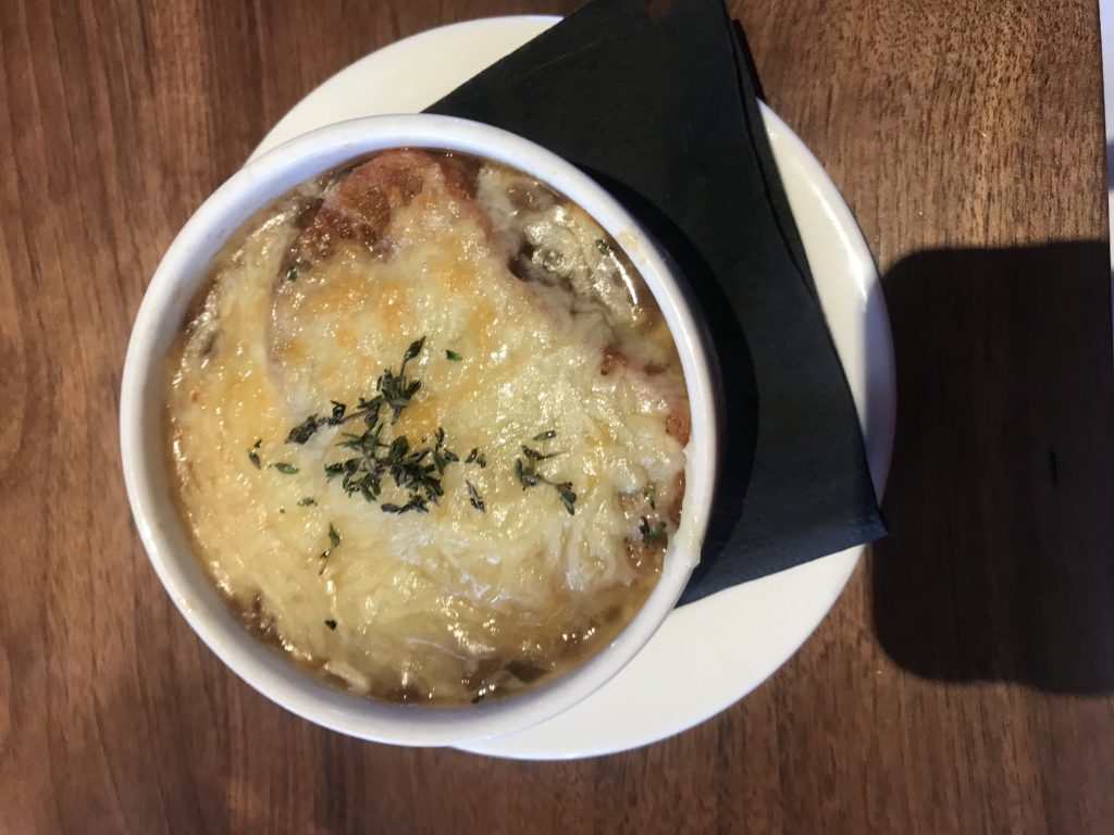 Walla Walla Onion soup at WW Steakco