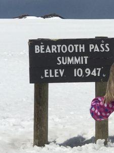 Summit of Beartooth Highway, Montana