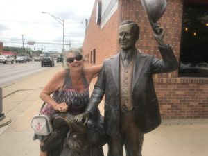 Bronze Statue in Rapid City, SD