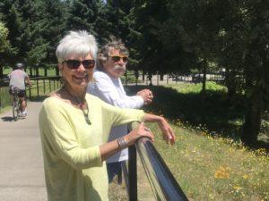 Jacqueline and Bub in Salem Oregon