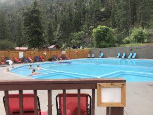 Hot Springs at Quinns Paradise Montana