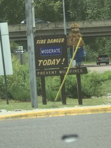 Fire Danger in Washington