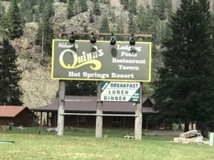 Quinn's in Paradise Montana