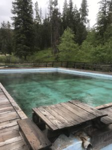 Large Pool at Elkhorn Hot Springs, MT