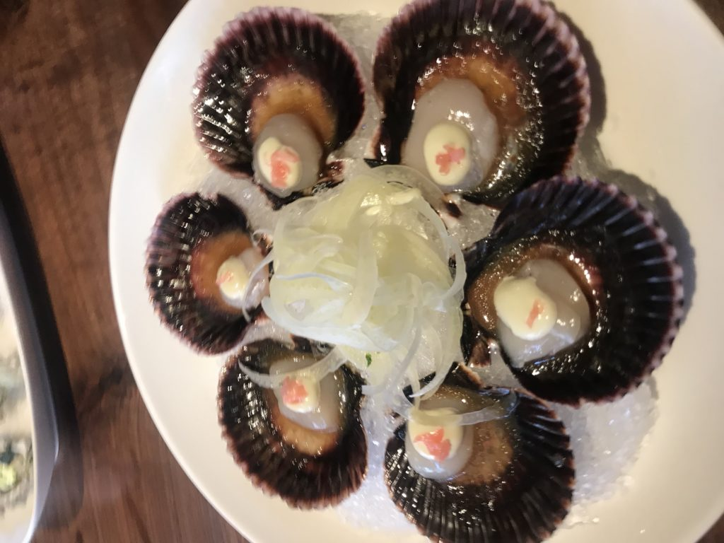 Scallops at WW Steakco