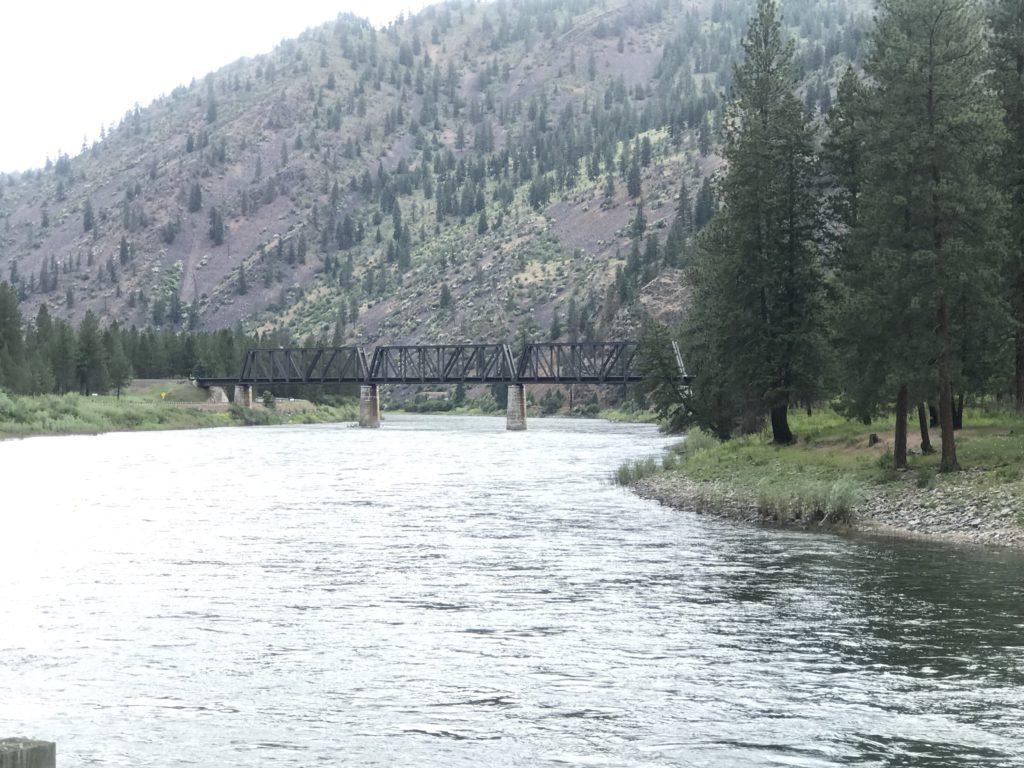 Clark River in Plains Montana
