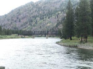 Clark Fork River in Plains Montana