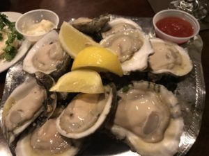 Oysters at The Nugget in Sparks