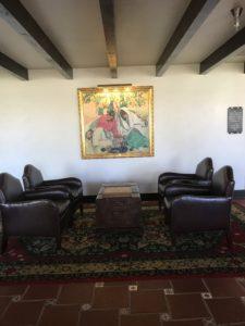 Lobby of The Inn at Death Valley