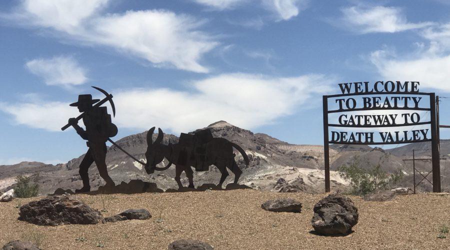Road Trip Beatty Nevada