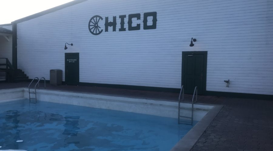 Pool at Chico Hot Springs