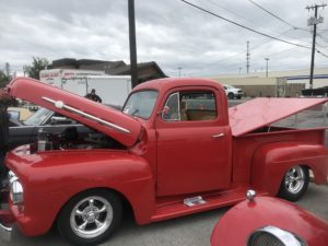Restored Truck at Kalispell, MT Carshow