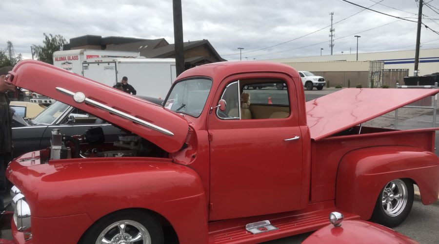Restored Truck at Kalispell, MT Carshow