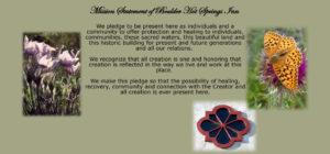 Boulder Hot Springs, MT Mission Statement