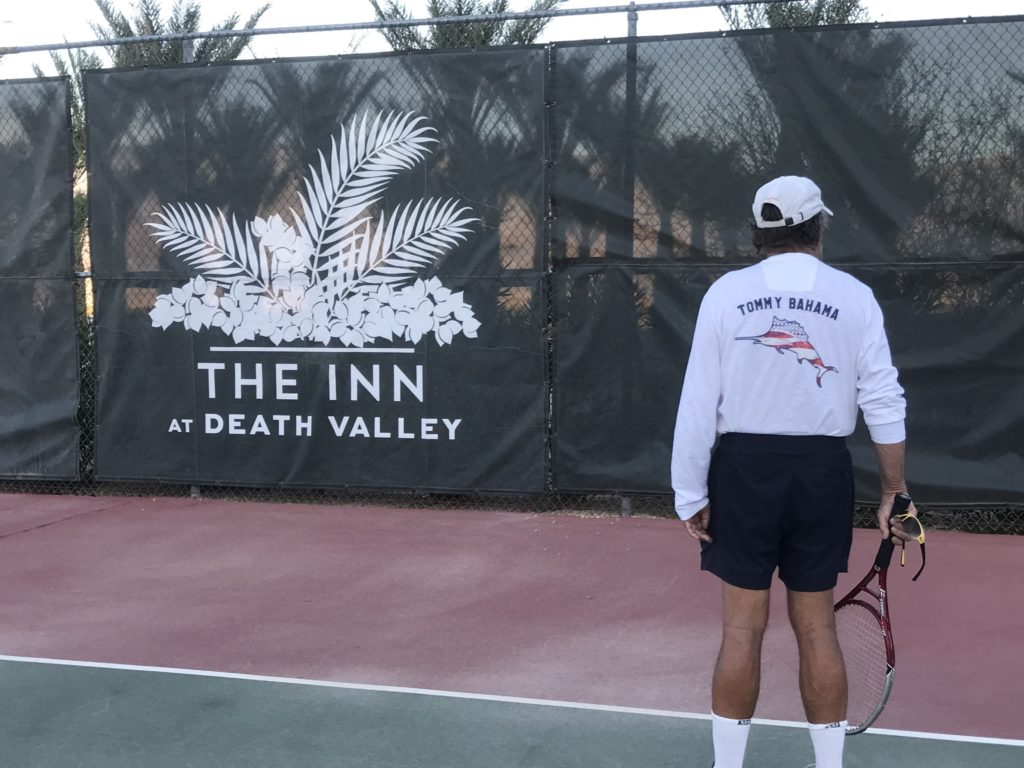 Tennis at the Inn at Death Valley