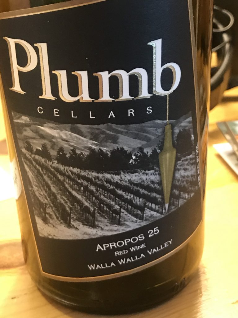 Plumb Wine in Walla Walla Washington