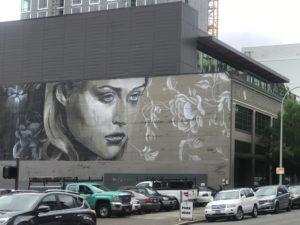 Street Art Girl Portland, OR