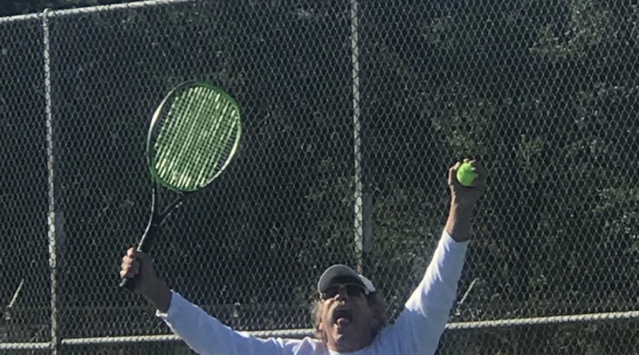 Bub wins at tennis at Bush Pasture, Salem, Oregon