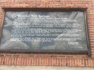 Boulder Hot Springs History Boulder MT