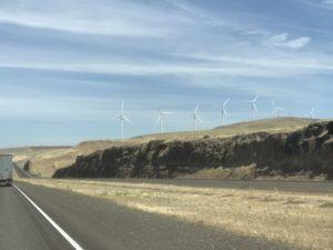Wind Generators in Washington and Oregon