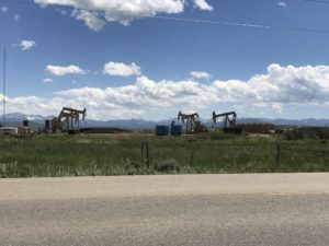 Oil Rigs in Southern Wyoming