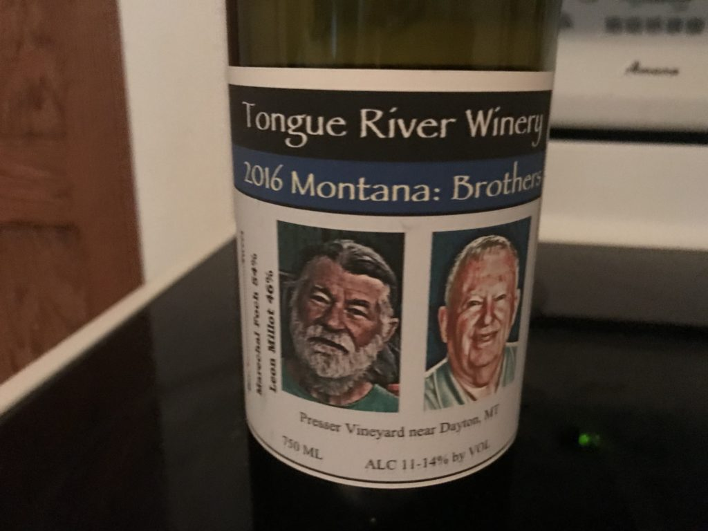 Montana:Brothers Wine, Tongue River Winery