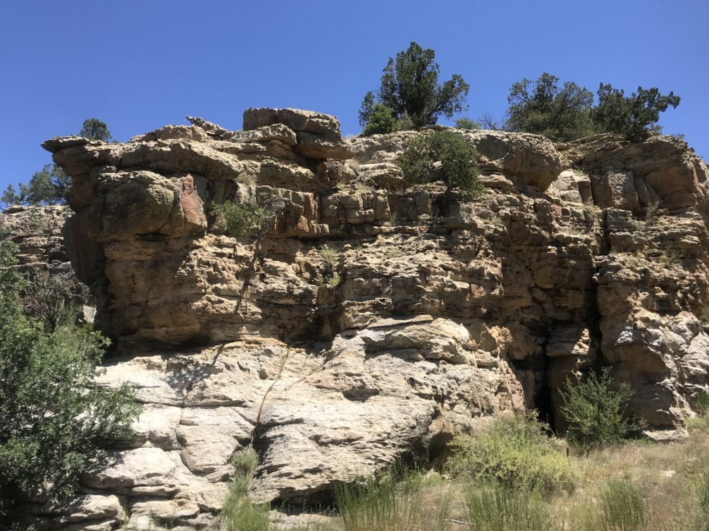 Rocks on Indian Reservation, NM
