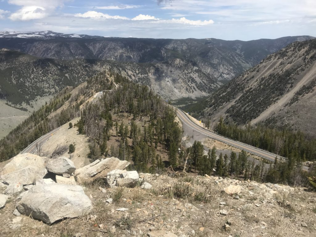 Beartooth Highway Switchbacks