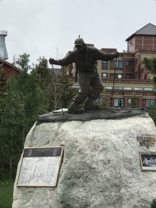 Soldiers of the Summit statue in Breckenridge, CO