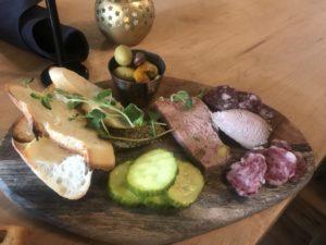 Meat Board at Prerogative, Red Lodge MT