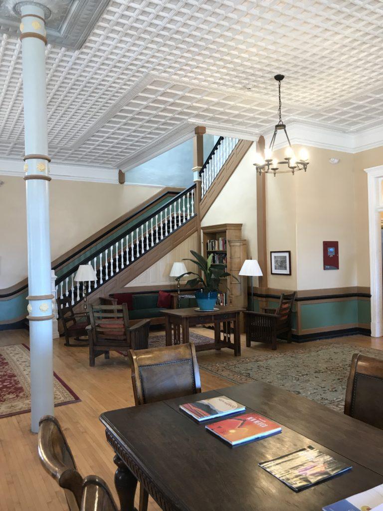 Lobby 2019 Casteñada Hotel, Las Vegas, NM