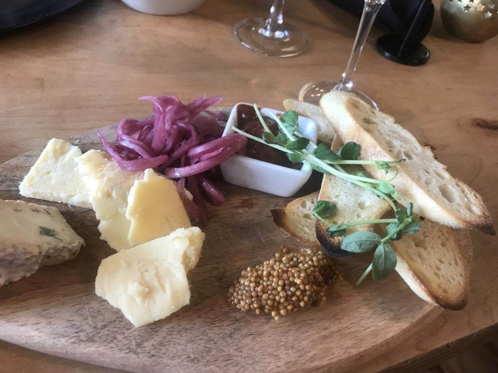 Cheese Board at Prerogative,Red Lodge MT