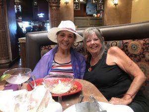 Bobbi Rivera and I at El Patron, ABQ,NM