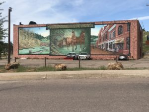 Mural in Cripple Creek CO