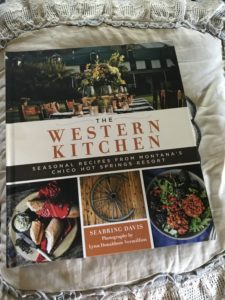 Cookbook with recipes from Chico Hot Springs, MT