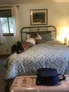 Our Room at the Tongue River Winery B&B,Miles City MT