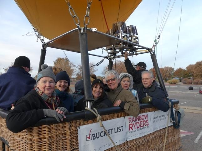Group in The Balloon Basket