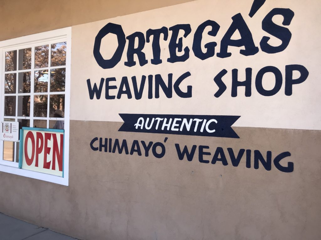Ortega's Weaving Shop Cimayo, New Mexico